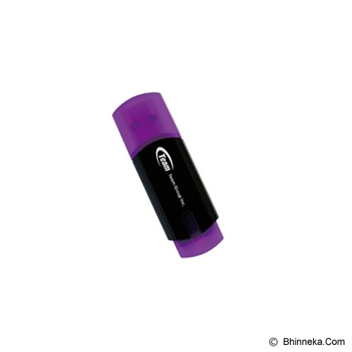 TEAM USB 2.0 4GB [C111] - Hitam Ungu - USB Flash Disk Basic 2.0